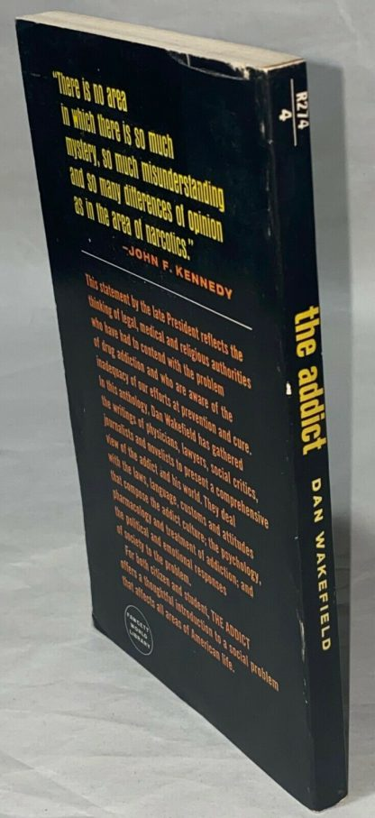 Book spine on William S. Burroughs The Addict.