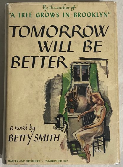 Cover of BETTY SMITH Tomorrow Will Be Better.