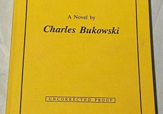 Cover of Proof of Charles Bukowski's Hollywood