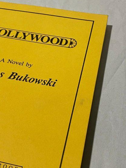 Front edge on Proof of Charles Bukowski's Hollywood
