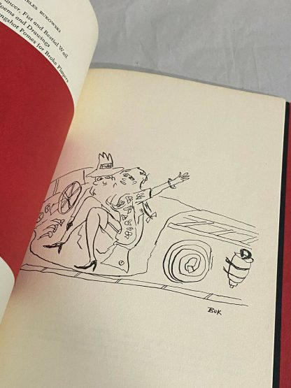 An illustration from the Bukowski book Fire Station