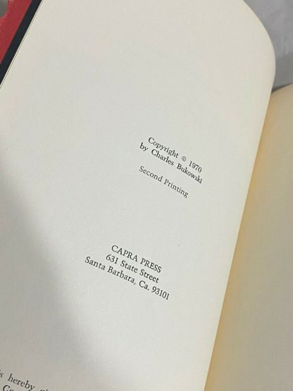 Charles Bukowski Fire Station opened to copyright page