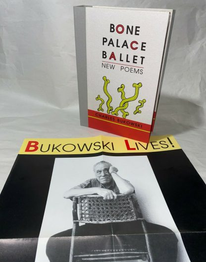 Cover and promo poster of Charles Bukowski Bone Palace Ballet