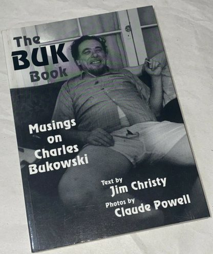 Front cover of The Buk Book: Musings on Charles Bukowski.