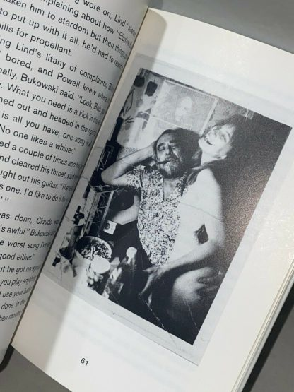 Charles Bukowski and Tina from The Buk Book: Musings on Charles Bukowski.