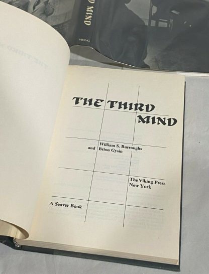 The title page from The Third Mind