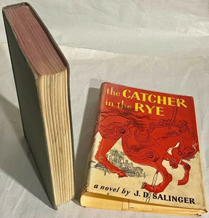 Jacket and Book of Grosset & Dunlap edition The Catcher in the Rye
