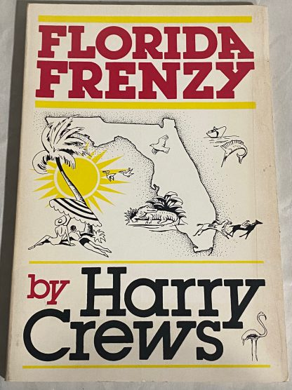 Cover of HARRY CREWS. Florida Frenzy.