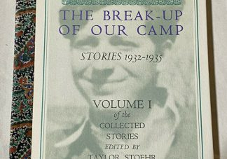 Cover of PAUL GOODMAN The Break-Up of Our Camp (Stories 1932-1935) VOLUME I of the Collected Stories