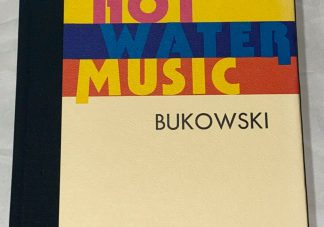 Cover of Charles Bukowski HOT WATER MUSIC first edition