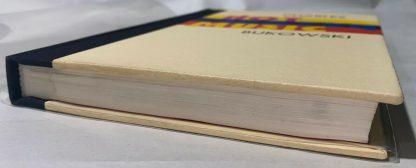 bottom edge of Charles Bukowski HOT WATER MUSIC first edition