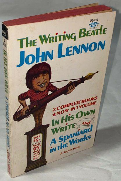cover shot of John Lennon THE WRITING BEATLE