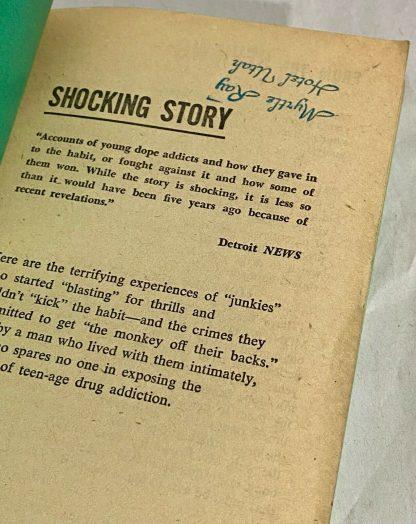FFEP from Monkey On My Back vintage paperback