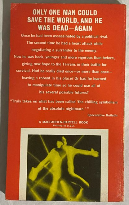 back cover of Philip K. Dick Now Wait For Last Year