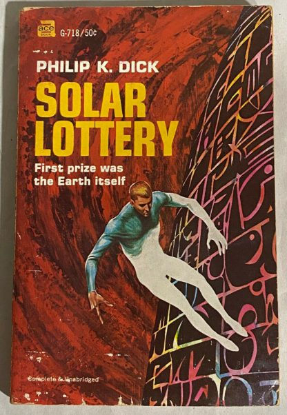 Cover of Philip K. Dick SOLAR LOTTERY Ace G-718