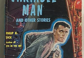 Cover of Philip K. Dick THE VARIABLE MAN AND OTHER STORIES Ace D-261