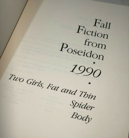 Title page from Fall Fiction from Poseidon