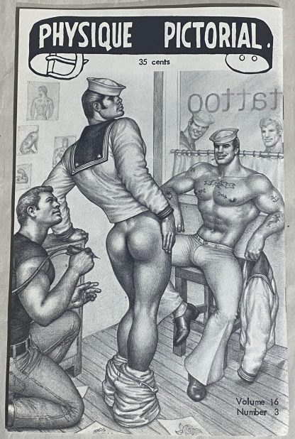 Tom of Finland in Physique Pictorial Volume 16, Number 3