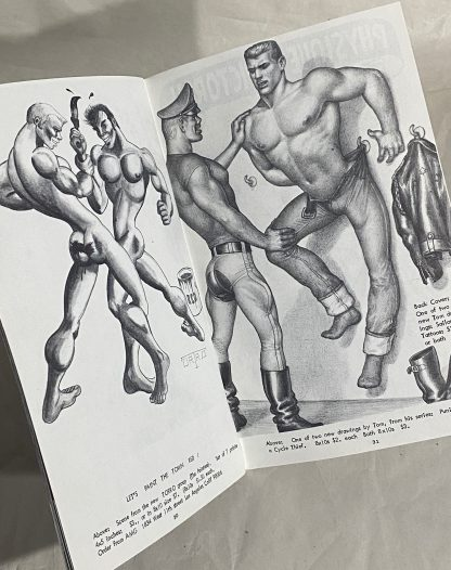 Tom of Finland from Physique Pictorial Volume 16, Number 3