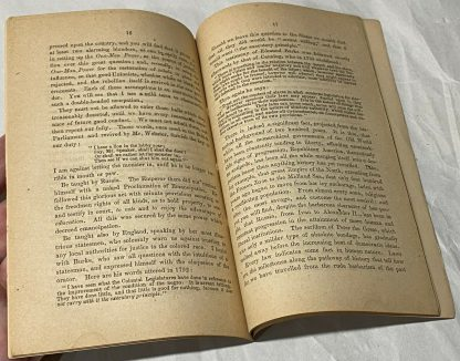 Inner pages of THOMAS CHAPMAN. False Reconstruction; Or, The Slavery That Is Not Abolished.
